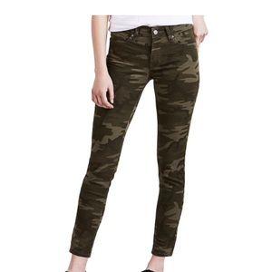 Levi's 711 Skinny Camoflage Jeans